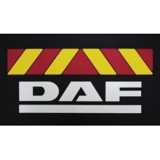 Брызговик DAF (к-т) 36x58 объемный текст, красн/желт полоса