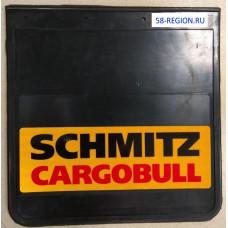 Брызговик SCHMITZ (к-т) 40x40 со светоотражающей жёлтой основой  Автоторг