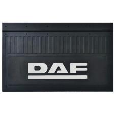 Брызговик для DAF (к-т) 52x33 объемный текст