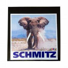 Брызговик 40x40 для Schmitz фото слон (к-т)